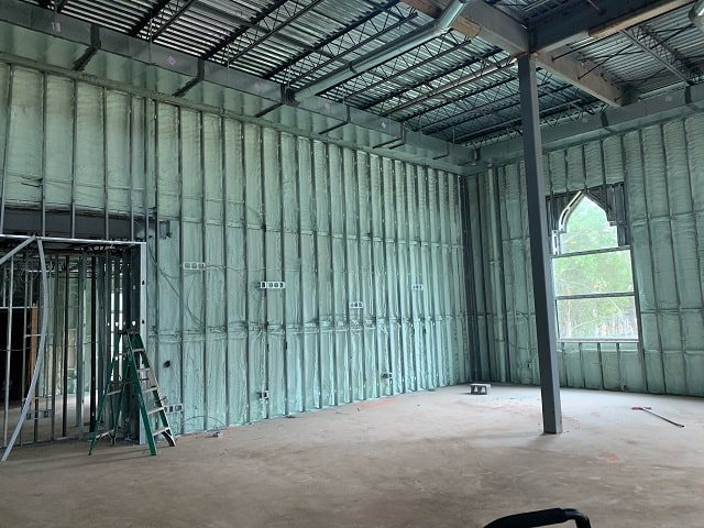 Commercial Spray Foam Insulation Raleigh NC