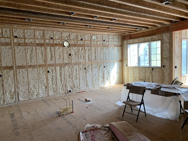 Home Spray Foam Insulation Raleigh NC